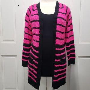 EUC. Lei Fuzzy long cardigan sweater